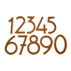 House Numbers by HouseArt -