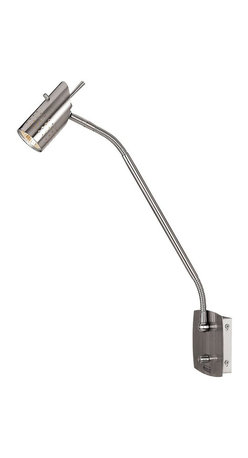 Access Lighting - Access Lighting Odyssey Modern / Contemporary Wall Mounted Task Lamp X-SB-88026 - A hardwired reading lamp option for your bedside or chair side. The gooseneck arm is perfect for hospitality settings or within your own home. Because you have the control of manipulating the movement of the gooseneck, it can accommodate you while checking your smartphones, ipad, books, work, lab top and much more!
