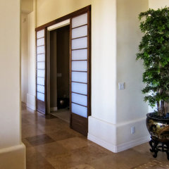 contemporary interior doors by Cherry Tree Design