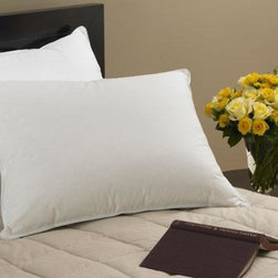 Home Decorators Collection - Down Collection Alternative Pillow - Our Down Collection Alternative Pillow will provide plenty of support and many nights of comfortable sleep. The pillows are expertly made of 230 thread count cotton. Pair with our Down Collection Alternative Comforter to create the perfect bed. Order yours now. 100% cotton. Fill: 1.5 denier polyester fiber. 230 thread count.