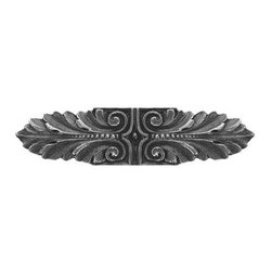 """Inviting Home - Opulent Scroll Pull (antique pewter) - Hand-cast Opulent Scroll Pull in antique pewter finish; 3-3/4""""W x 7/8""""H; Product Specification: Made in the USA. Fine-art foundry hand-pours and hand finished hardware knobs and pulls using Old World methods. Lifetime guaranteed against flaws in craftsmanship. Exceptional clarity of details and depth of relief. All knobs and pulls are hand cast from solid fine pewter or solid bronze. The term antique refers to special methods of treating metal so there is contrast between relief and recessed areas. Knobs and Pulls are lacquered to protect the finish. Alternate finishes are available. Detailed Description: The Opulent Scroll pulls add an amazing focus to any drawers or cabinets - it will make them look regal and majestic. The absolute perfect place for these pulls to be used is in the dining room on your china closet. They are great pulls to use if you are trying to punch up an antique piece of furniture or cabinet. You should consider using the Opulent Scroll pulls in combination with the Opulent Flower knobs or wood knobs with flower."""