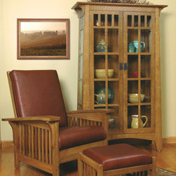 Mission-style White Oak Living Room Furniture - Morehead Marketing