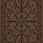 """Nu Loom - Indoor/Outdoor Traditional 5'3""""x7'9"""" Rectangle Brown Area Rug - The Traditional area rug Collection offers an affordable assortment of Indoor/Outdoor stylings. Traditional features a blend of natural Brown color. Machine Made of 100% Polypropylene the Traditional Collection is an intriguing compliment to any decor."""