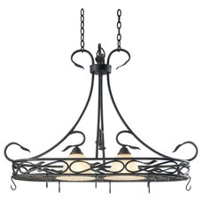 Transitional Pot Racks And Accessories by Lighting Front