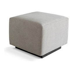 Gus Modern - Gus Modern | Sparrow Ottoman - The Sparrow Ottoman is bold enough to stand alone, or pairs nicely with the Sparrow Glider. Like the Sparrow Glider, the Sparrow Ottoman also features a smooth, quiet rocking motion. Made of FSC Certified wood. Use it as a foot rest or a place to lay the remote, the Sparrow Ottoman is made for the modern home.