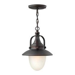 Hinkley Lighting - Hinkley Lighting 2082-LED 1 Light LED Outdoor Lantern Pendant Pembrook - Single Light LED Outdoor Lantern Pendant from the Pembrook CollectionFeatures: