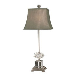Dale Tiffany - Dale Tiffany GT11258 Lucinda 1 Light Table Lamp - Lamping Technology: