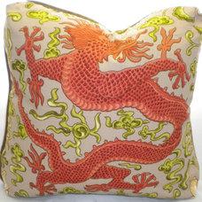 Asian Decorative Pillows by 1156pillow