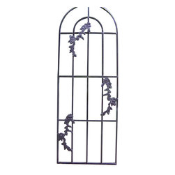 Oakland Living - Oakland Living Rose Trellis in Hammer Tone Brown - Oakland Living - Trellises - 5009HB - About This Product: