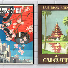 Asian Artwork by PopMount Inc.