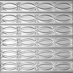 Decorative Ceiling Tiles - Ribbons - N - Bows - Aluminum Ceiling Tile - #0303 - Find copper, tin, aluminum and more styles of real metal ceiling tiles at affordable prices . We carry a huge selection and are always adding new style to our inventory.