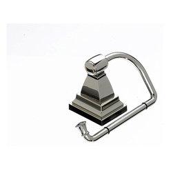 "Top Knobs Hardware - Stratton Bath Tissue Hook - Length - 2"""