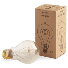 Modern Light Bulbs Edison Bulb with Quad Loop Filament