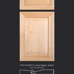 Maple Raised Panel Cabinet Door Style - Maple cabinet doors with raised panel and 5 piece drawer front