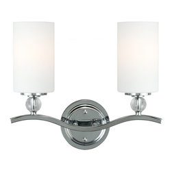 Sea Gull Lighting - Sea Gull Lighting 4413402-05 Englehorn 100W Incand. Modern / Contemporary Wall S - The modern Englehorn Collection brings a heightened sense of beauty through the use of dramatic and flawless optic crystal. Even with the crystal's delicate appearance, the overall design makes a strong statement.
