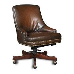 Hooker Furniture - Hooker Furniture Executive Chair, Dark - Product Details