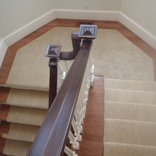 Staircase by The Carpet Workroom and Reclamation Center, Inc.