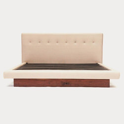Artless - Artless | 101082 Platform Bed - Made in Los Angeles by ARTLESS.The Artless 101082 Bed is a subtle reinterpretation of our platform bed. By upholstering the platform we believe the bed achieves a lovely balanced between our modern ARTLESS style with a bit of a feminine touch. Available in multiple sizes and upholstery options to suit any decorating needs.