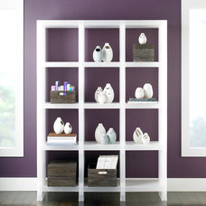 Modern Display And Wall Shelves  by The Container Store