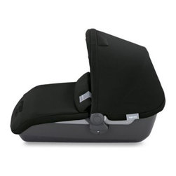 Inglesina - Inglesina Avio Bassinet in Black - The Inglesina Avio Bassinet is the perfect accessory to the Inglesina Avio Stroller (sold separately). This top-carry bassinet with a double-faced mattress weighs only 8.6 pounds.
