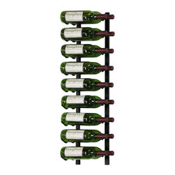 VintageView - VintageView 18 Bottle Metal Wine Rack, Satin Black - Create a wall wine rack system anywhere. Decorative, reliable and flexible metal wine racks from VintageView. Showcase your wine, not the racks. We are proud to be the best dealer of VintageView products in America, and we back our position with unsurpassed customer service.
