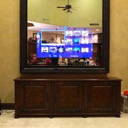 In-Mirror TVs - A gorgeous custom In-Mirror TV.