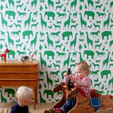 Modern Nursery Decor by Rosenberry Rooms