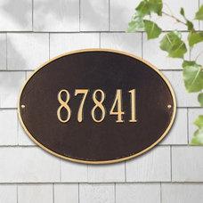 Modern House Numbers by Hayneedle