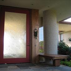 Tropical Entry by Daniel Moran Architect