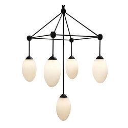 NOIR - Noir Furniture Sedna Chandelier, Small - NOIR Furniture - Sedna Chandelier - LAMP479