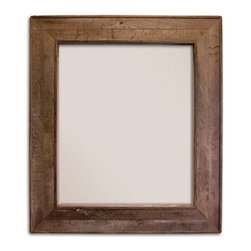 Native Trails - Chardonnay Mirror | Native Trails - Made in North America by Native Trails.The Chardonnay Mirror is a one-of-a-kind piece with a rich history. The repurposed mirror frame is handmade from California oak wine barrel tops. This beveled glass mirror is an authentic and charming addition to your bathroom décor. Product Features: