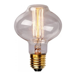 ParrotUncle - 40W Edison Tungsten Vintage Antique Style E27 Light Bulb - Each 40W bulb fits a standard light socket, making it an easy, fun alternative to any basic light bulb, maintaining a life span of up to 2,000 hours. Each bulb illuminates with a warm amber glow, filling any space with the utilitarian ambiance reminiscent of the original tungsten filament bulbs of the mid-20th Century.