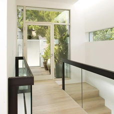 Modern Entry by Mark English Architects, AIA