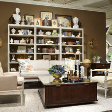 Traditional Living Room by Woodson & Rummerfield's House of Design