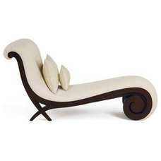 Modern Indoor Chaise Lounge Chairs by XCLUSIVE INTERIORS