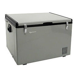 EdgeStar - EdgeStar 63-quart Portable Fridge/ Freezer - Youll dramatically increase your cold food storage space with this handy portable fridge freezer. Featuring a 63 quart fridge/freezer capacity, it offers adjustable temperature controls and has two removable baskets for flexible storage options.