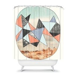 DENY Designs Wesley Bird Dry Spell Shower Curtain - Don't settle on any old shower curtain when the DENY Designs Wesley Bird Dry Spell Shower Curtain lets you take a walk on the wild side. The original designer print of this woven polyester shower curtain is sure to turn some heads. So lather up and enjoy a whole new bathing experience.About DENY DesignsDenver, Colorado based DENY Designs is a modern home furnishings company that believes in doing things differently. DENY encourages customers to make a personal statement with personal images or by selecting from the extensive gallery. The coolest part is that each purchase gives the super talented artists part of the proceeds. That allows DENY to support art communities all over the world while also spreading the creative love! Each DENY piece is custom created as it's ordered, instead of being held in a warehouse. A dye printing process is used to ensure colorfastness and durability that make these true heirloom pieces. From custom furniture pieces to textiles, everything made is unique and distinctively DENY.