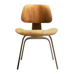 Herman Miller - Eames Molded Plywood Dining Chair - Wood Base by Herman Miller - The Eames® Molded Plywood Dining Chair - Wood Base by Herman Miller® expands on the success of the original Molded Plywood Lounge with the same smooth curves and a slightly narrower stance. The entire piece is lovely and lightweight, made out of molded plywood in an array of gorgeous veneers. Since its early beginnings in 1905 (then known as the Star Furniture Company), Herman Miller has stood as one of the leaders in ergonomic furniture design and manufacture. Today, with a strong focus on designing furnishings with excellent form and function, this Michigan-based company produces a variety of home and office products that improve the human experience wherever people work, create, learn and live.