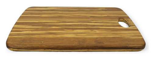 Architec™ Housewares - Architec™ EcoSmart™ Farmhouse Cutting Board - Architec™ EcoSmart™ Farmhouse Bamboo Cutting Board with Handle. Woven from light and dark strands of natural bamboo using old world bamboo construction techniques.