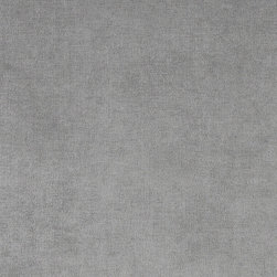 Grey Solid Woven Velvet Upholstery Fabric By The Yard - This velvet fabric is woven for appearance and increased durability. It is excellent for all indoor upholstery, including residential and commercial.