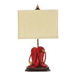 Sterling Industries - Sterling Industries 93-513 1 Light Flip Flop Table Lamp - Features: