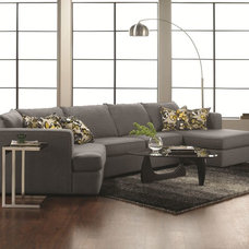 Modern Sectional Sofas Modern Norman 3pc Sectional