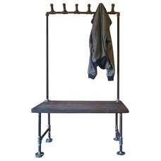 industrial coat stands and umbrella stands by Oilfield Slang