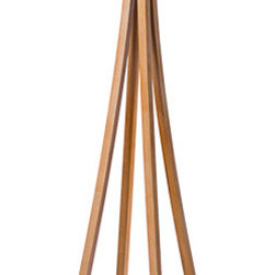 """Anatole"" Solid wood coat rack - The ""Anatole"" signature line by A&E Fine Woodworking is a series of work inspired by the structural engineering of the Eiffel Tower, located on ""Avenue Anatole"" in Paris. In the spirit of the ""City of Romance"", each available color is affectionately named:"