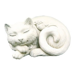 Purrfect Pals Garden Statue - About Carruth StudioWe've chosen to carry Carruth Studio designs based on their integrity and authentic dedication to aesthetics. Since 1983, sculptor George Carruth has been creating whimsical images out of limestone, concrete and clay, all with one thing in common: the ability to make people smile. With a nod toward the world of nature, Carruth's signature works include a menagerie of bunnies, cats, frogs and other delightful creatures, flowers, angels, celestial bodies and magical beings. The company is located in Ohio. We think you'll find Carruth designs lovely and interesting, a perfect choice for your outdoor area.