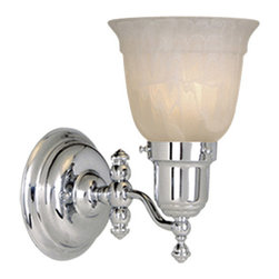 Vaxcel - Swing Arm Chrome Wall Sconce - Vaxcel WL28961CH Swing Arm Chrome Wall Sconce