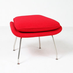 Modern Classics - Saarinen: Womb Ottoman Reproduction - Features: