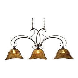 Uttermost - Vetraio Kitchen Island Light in Oil Rubbed Bronze - 21009 - Kitchen island light