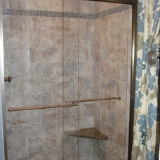 Traditional Showers by All About Interiors LLC