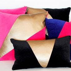 Modern Decorative Pillows by Mood Design Studio